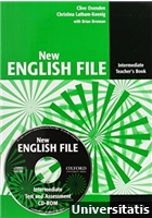 New English File Intermediate Teachers Book + CD-ROM
