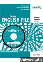 New English File Advanced Workbook with key + MultiROM