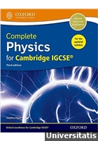 Complete Physics for Cambridge IGCSE® Student book