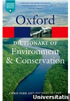Dictionary of Environment & Conservation
