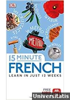 15 Minute French - Learn in just 12 weeks - Free Audio App