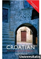 Colloquial Croatian CD Pack
