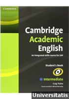 Cambridge Academic English Intermediate Students Book