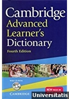 Cambridge Advanced Learner\'s Dictionary with CD-ROM