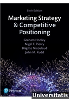 Marketing Strategy and Competitive Positioning 6th Edition