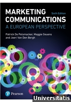 Marketing Communications A European Perspective 6th Edition
