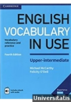 English Vocabulary in Use Upper-Intermediate Book with Answers and Enhanced eBook: Vocabulary Reference and Practice 4th Edition