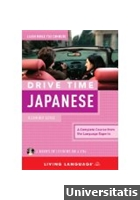 Living Language - Drive Time Japanese Beginner Level Pack of 4 Audio CDs
