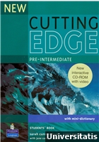 New Cutting Edge Pre-Intermediate Students Book + CD