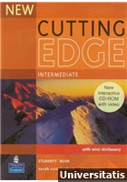 New Cutting Edge Intermediate Students Book with Mini-Dictionary + CD
