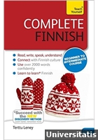 Teach Yourself - Complete Finnish from Beginner to Intermediate Pack - Book with MP3 Audio CD