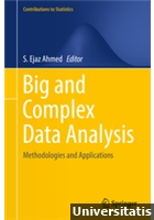 Big and Complex Data Analysis  Methodologies and Applications