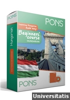 PONS Beginners Course: Hungarian + 2 CD melléklet