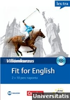 Villámkurzus - Fit for English + CD