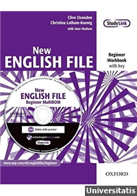 New English File Beginner Workbook with key + MultiROM